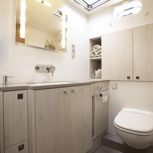Eigner-Bad mit WC, Waschbecken & Dusche