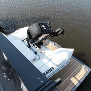 Motor vom Tenderboot